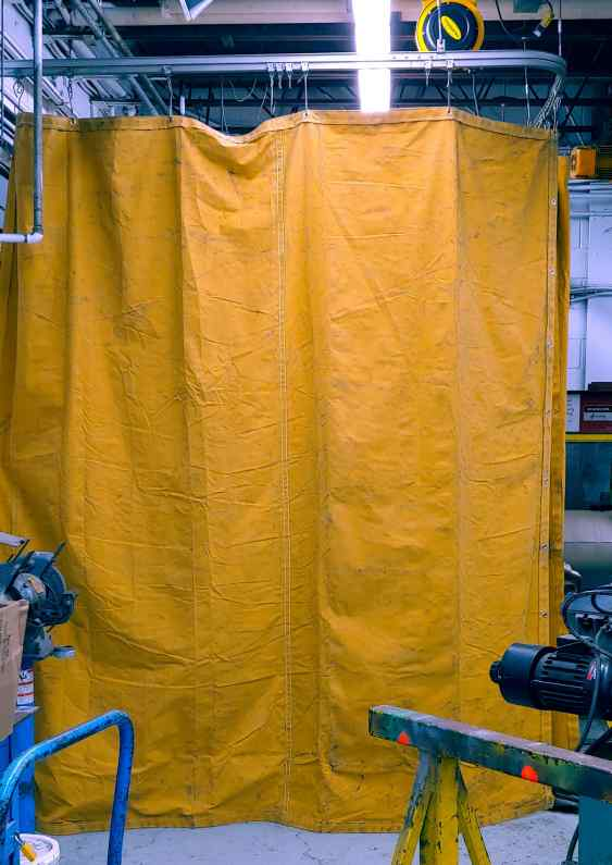 Factory curtain