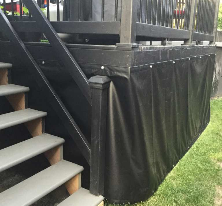 Deck skirting