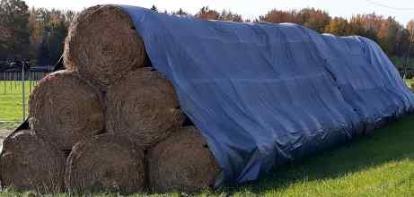 6.2oz Waterproof Hay Tarps