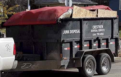junk disposal tarp