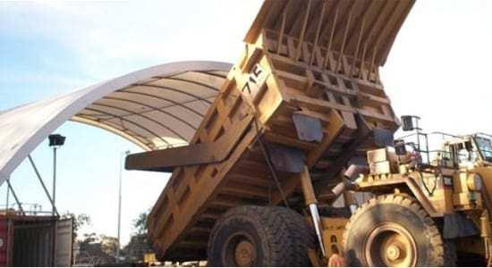 Mining tarps