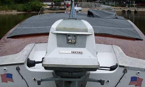 Motor boat cover