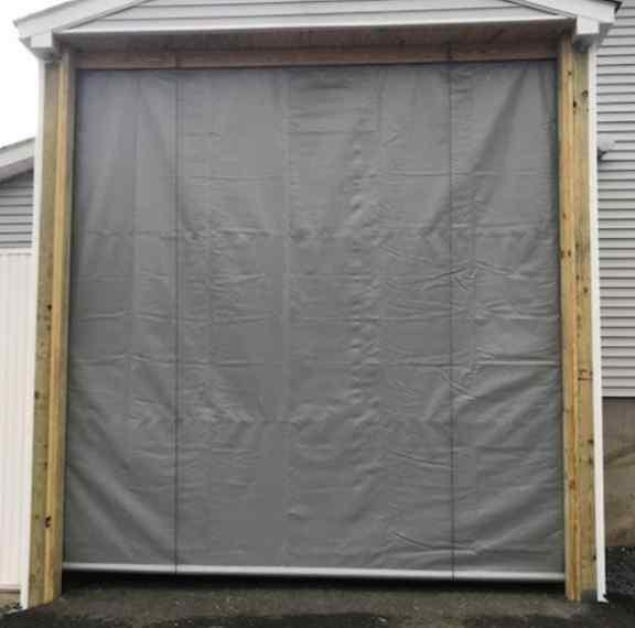 Roll Up Door Tarps - Heavy Duty Tarps