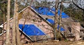 Waterproof roof covers