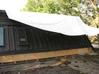Roofing tarps