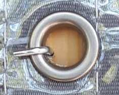 Tarp grommet fastened with cornice hook