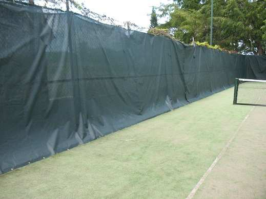 Tennis Court Screen for Privacy and Windbreak