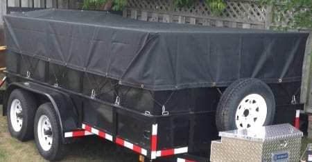 Tarp for a utility trailer