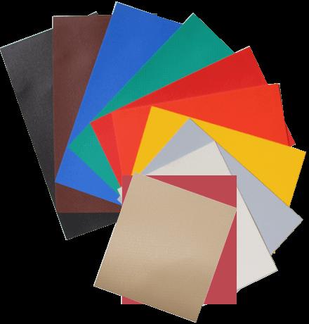 Vinyl tarp colors