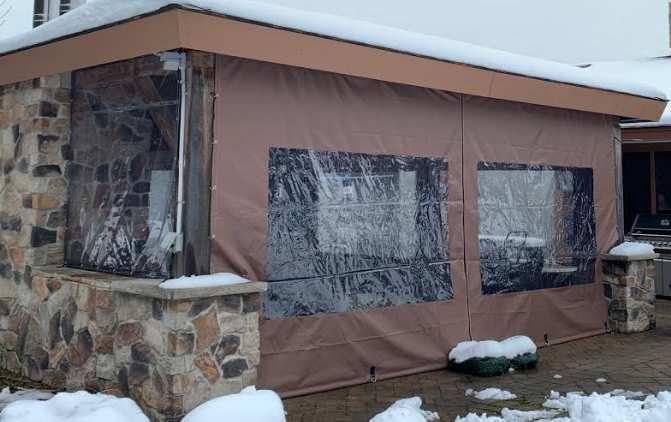Windowed tarps