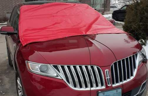 Car winter windshield protection